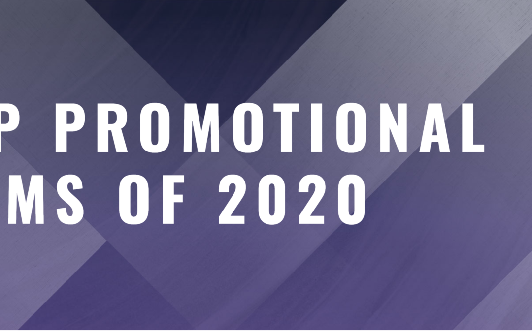 Top Promotional Items of 2020